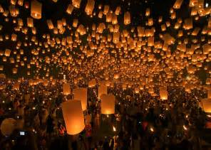 Winter Solstice Decorations Ideas - picture of the day festival of lanterns in chiang mai thailand 171 twistedsifter