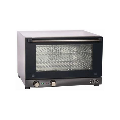 cadco half size 120v electric countertop convection oven 24w