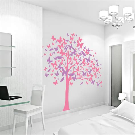 wall stickers butterfly butterfly tree wall decal sticker