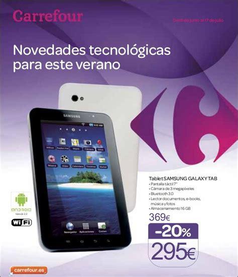Tablet Samsung Di Carrefour samsung galaxy tab barato precio desde 250 euros