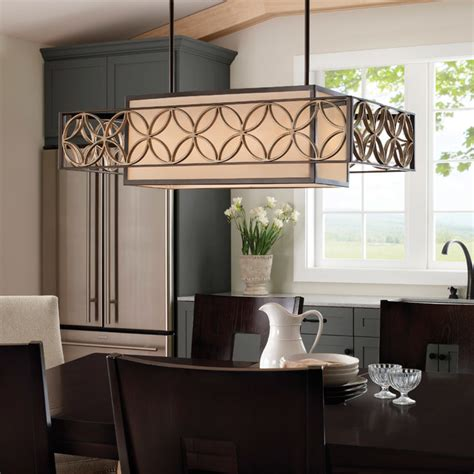 Bronze Dining Room Light Murray Feiss F2468 4htbz Pgd Remy Heritage Bronze Island Light Midcentury Dining Room