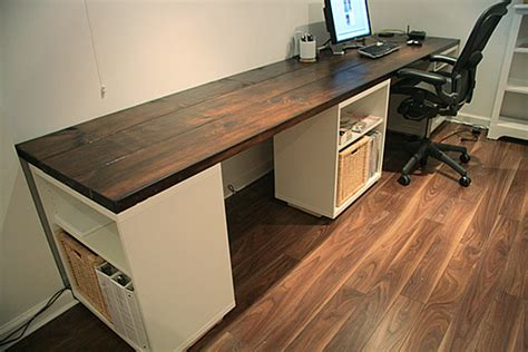 Diy Make Your Own Desk Lindsay Stephenson How To Build An Office Desk