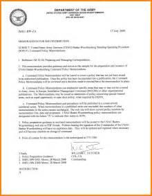 9 memorandum format army day care resume