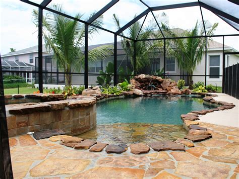 Florida Backyard Jacksonville by Concrete Swimming Pool 171 Jacksonville Pool Builder