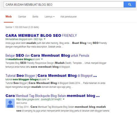 Membuat Blog Seo | share blog ke google membuat blog mudah seo banyak