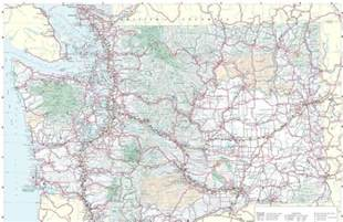 Washington State Highway Map by Washington Preppers Network Washington State Highway Map