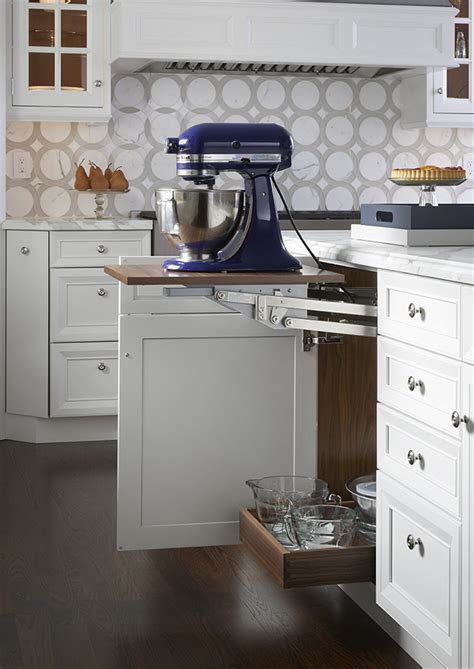 Mixer Cabinet   Wood Mode   Fine Custom Cabinetry