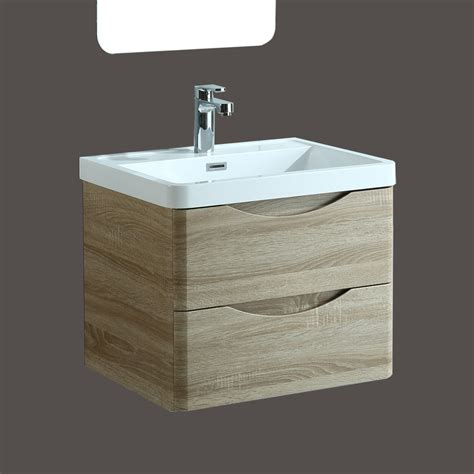 Luxury Floor Mounted Or Wall Hung Oak Bathroom Furniture Wall Hung Bathroom Furniture