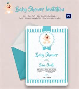 Invitation For Baby Shower Template by Baby Shower Invitation Template 22 Free Psd Vector Eps