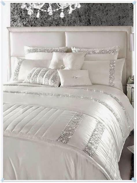satin bed linen casa decor silver bedroom luxurious bedrooms home decor
