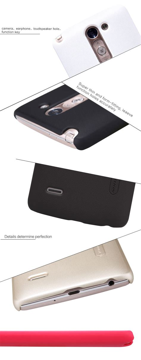 Nillkin Frosted Lg G3 nillkin frosted shield matte cover for lg g3