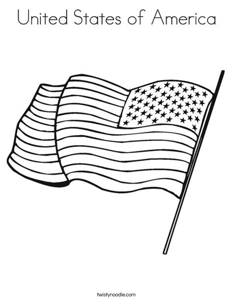 coloring pages united states flag united states of america coloring page twisty noodle