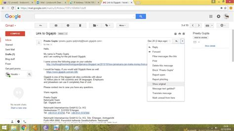 How To Search An Email In Gmail How To Find The Ip Address Of The Email Sender In Gmail