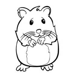 Galerry cartoon hamster coloring pages