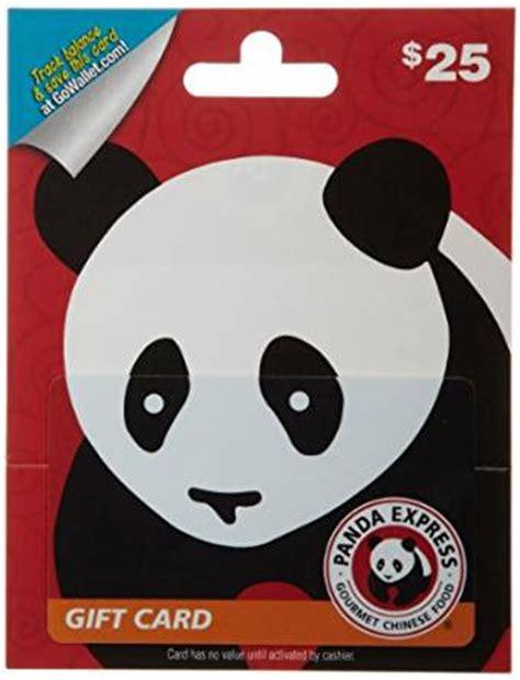 Panda Express Gift Card - amazon com panda express gift card 25 gift cards