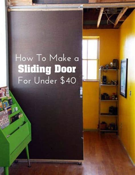 Diy Sliding Door Room Divider 15 Creative Diy Room Dividers That Will Redefine Your Space
