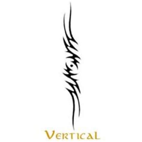 vertical tribal tattoos tribal lower back tattoos
