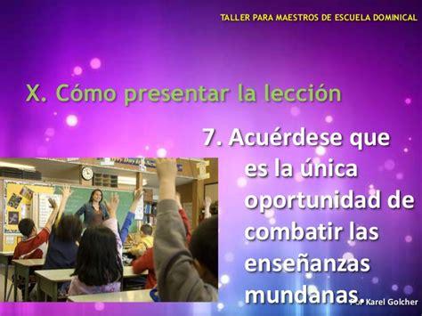 maestro de escuela dominical taller para maestros de escuela dominical