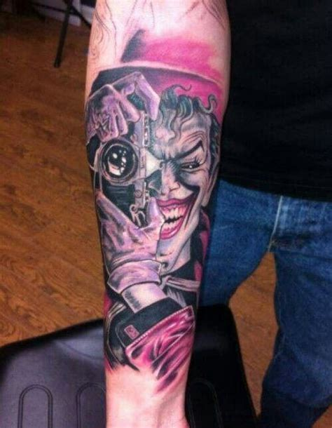 joker tattoo killing joke the killing joke tattoo tattoo pinterest jokers