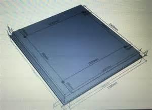 plan du toit sur cabine 551