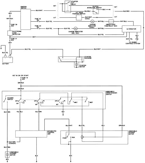 97 honda civic distributor wiring diagram get free image