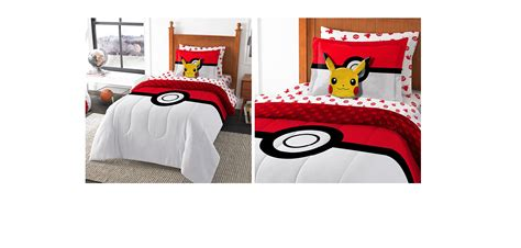 pokemon bed sheets full pokemon bed in a bag pok 233 mon comforter sheets and pillow