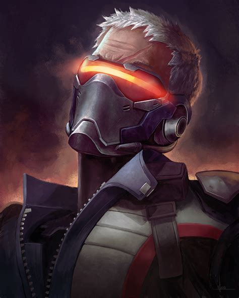 soldier 76 by ninovecia on deviantart