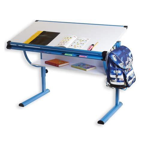 bureau enfant reglable bureau enfant blue r 233 glable en hauteur et plateau