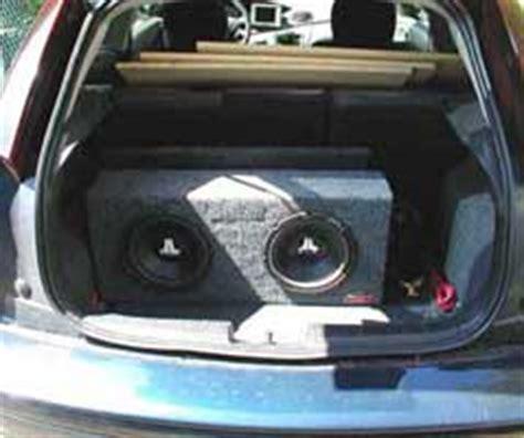 big boat speakers car audio speaker builds