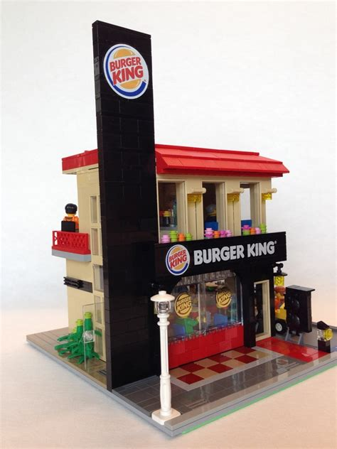 Minecraft Chandelier Ideas Lego Ideas Modular Burger King Drive Through Store