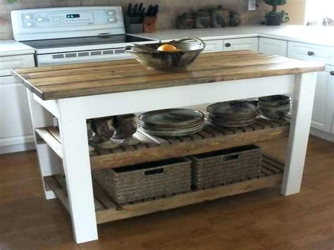 diy movable kitchen island diy design ideas