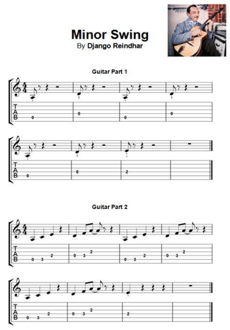 swing tabs 5 essential beginner guitar instrumental songs jamie