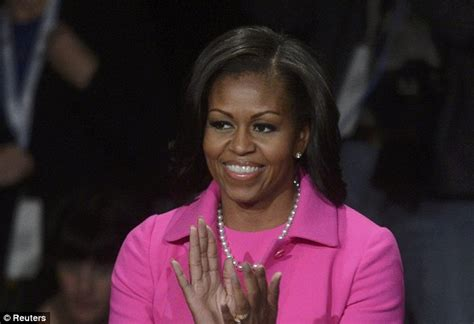 ms obamas haircut who wore pink better michelle obama vs ann romney at the