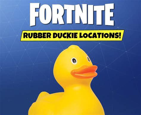 fortnite ducks salty springs treasure map week