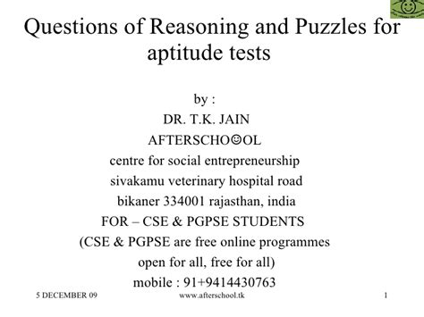 Mat Reasoning Questions by Questions Of Reasoning And Puzzles For Competitive