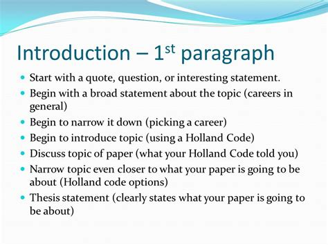 how to start a research paper introduction exles writing an essay career fair paper ppt