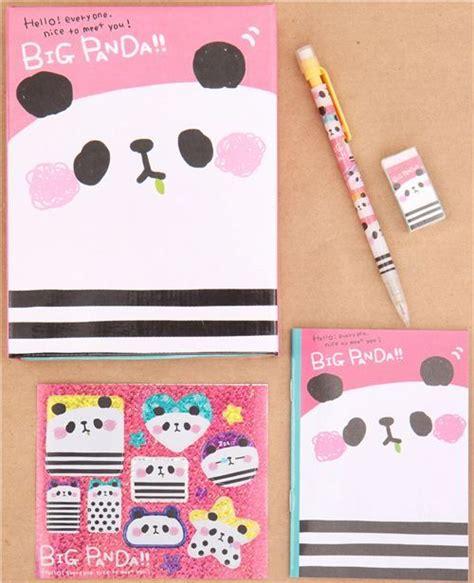 Gmb Set Mounie Panda Pink pink panda q lia stationery set with 5 pieces 1