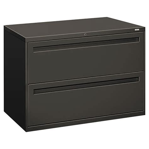 Hon 2 Drawer Lateral File Cabinet Hon 792ls 700 Series Charcoal Two Drawer Lateral Filing Cabinet 42 Quot X 19 1 4 Quot X 28 3 8 Quot