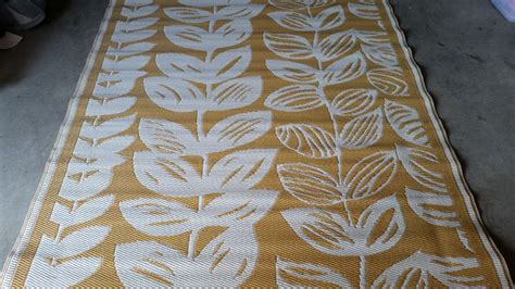 Recycled Plastic Area Rugs Vine Design Recycled Plastic Rug Trific Interiors