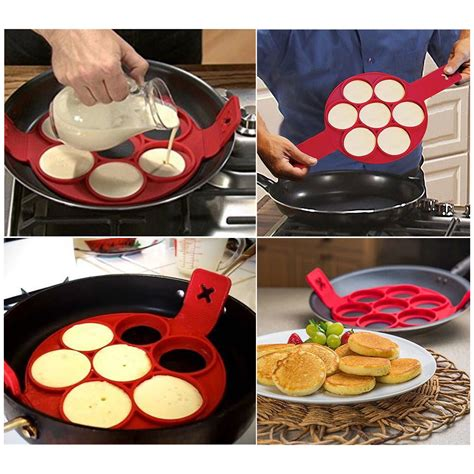 Teflon Pancake 2017 flippin fantastic nonstick pancake maker egg ring