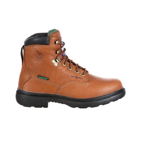 mens ranch boots mens farm and ranch waterproof boots g6503 ebay