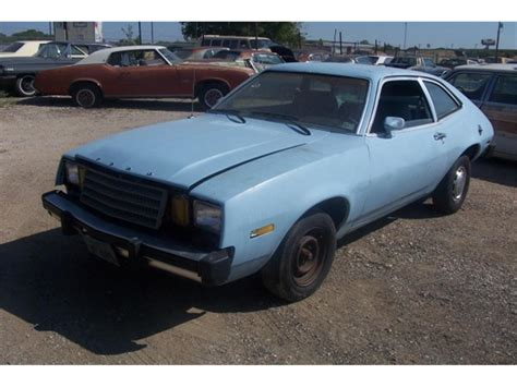 1979 ford pinto 1979 ford pinto for sale classiccars cc 889137
