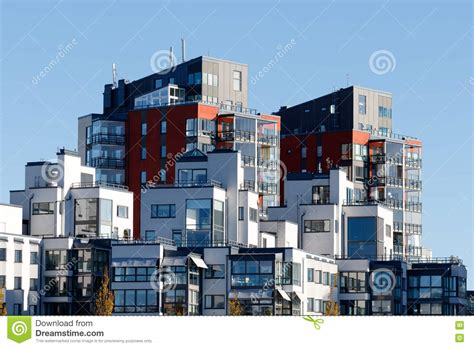 appartments in stockholm beautiful modern apartments in sweden stock photo image