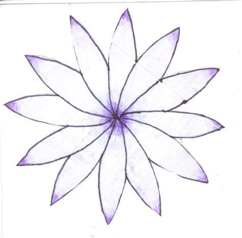 Drawing Flowers by Easy To Draw Flowers Pretty Flowers By Redsommer For