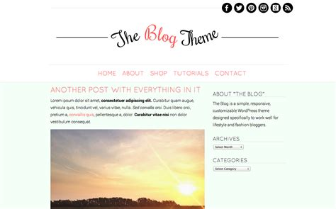 simple templates for blogger free lublyou life and cuisine
