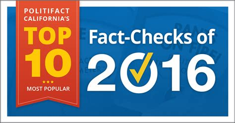Top 10 Background Check Politifact California S Top 10 Fact Checks Of 2016 Politifact California