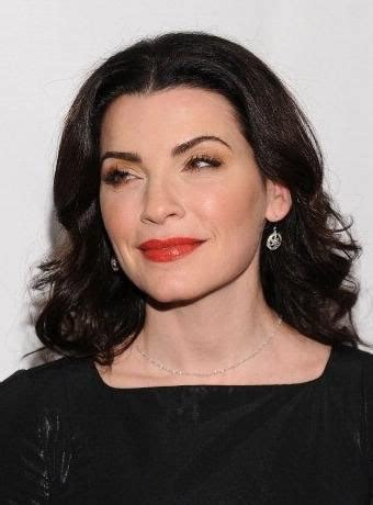 julianna margulies new hair cut julianna margulies wide retro waves