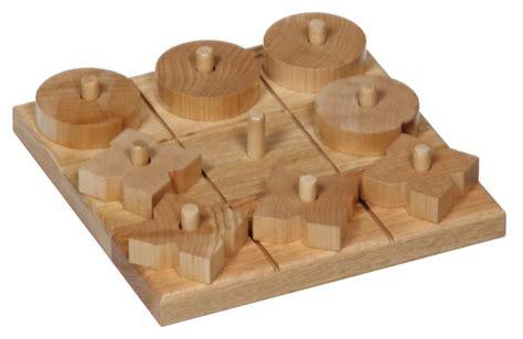 Diy Entryway Amish Oak Wood Tic Tac Toe Game