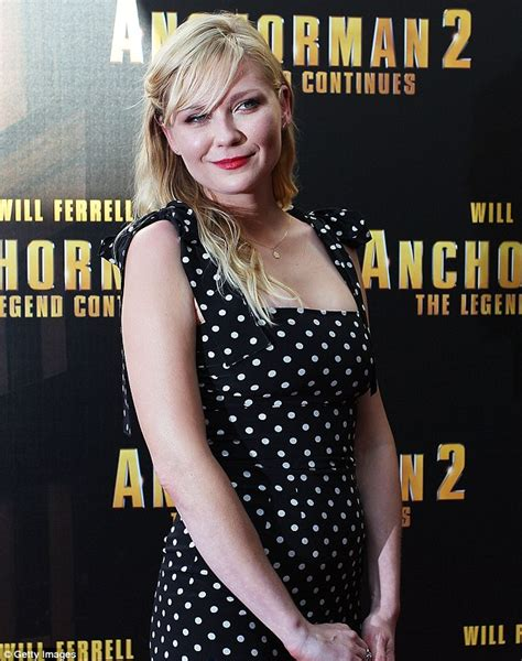 australian casting couch kirsten dunst goes make up free as she cuts a retro figure