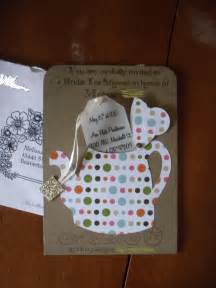 tea invitation ideas cimvitation